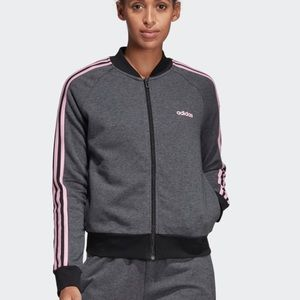 Adidas Essentials Seasonal Bomber Jacket - Size L
